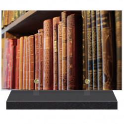 PLAQUE FUNÉRAIRE MÉTIER BIBLIOTHÉCAIRE 20 cm X 30 cm FPFNX168