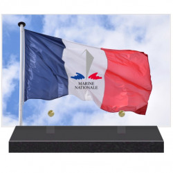 PLAQUE FUNÉRAIRE MARINE NATIONALE 20 cm X 30 cm FPFNX160-3