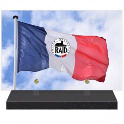 PLAQUE FUNÉRAIRE POLICE NATIONALE RAID 20 cm X 30 cm FPFNX160-10