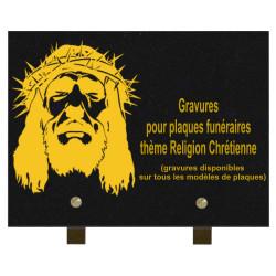 PLAQUE FUNÉRAIRE 20X30...