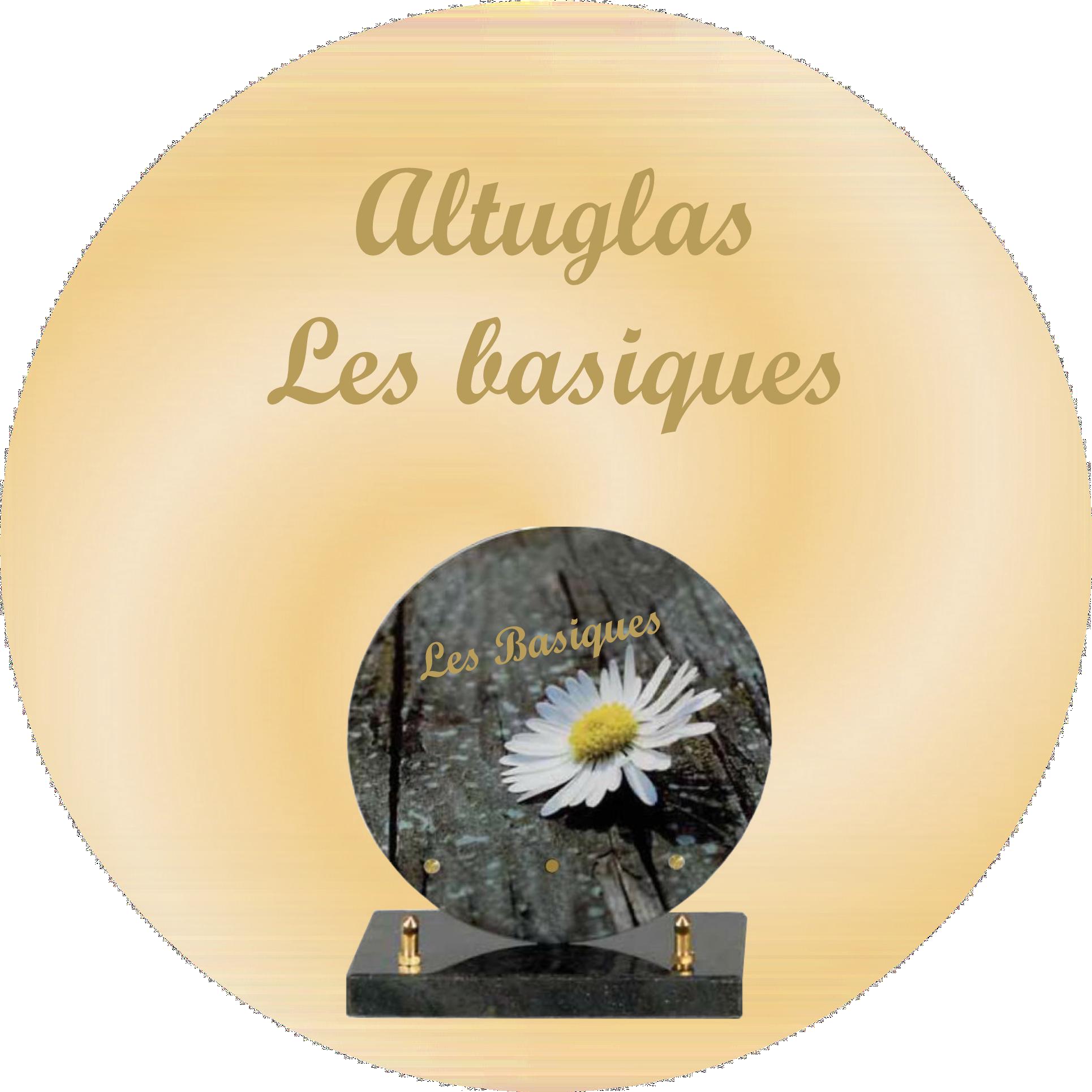 plaques funeraires altuglas basique BELLEY