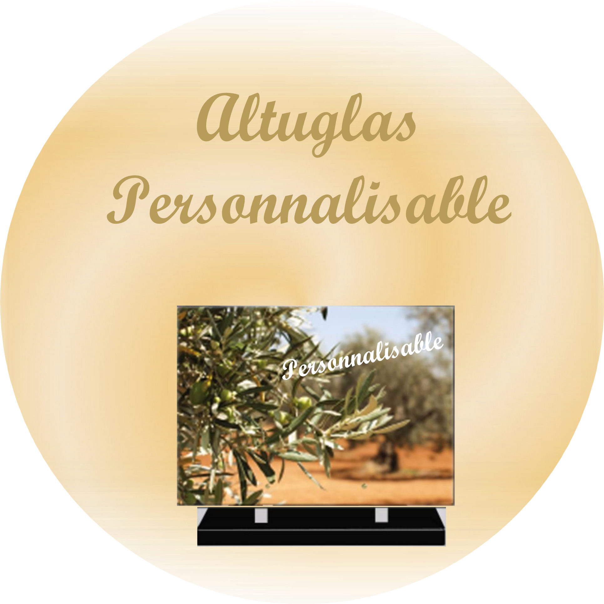PLAQUES FUNERAIRES MODERNES PERSONNALISABLES RECTANGLE SENTILLY