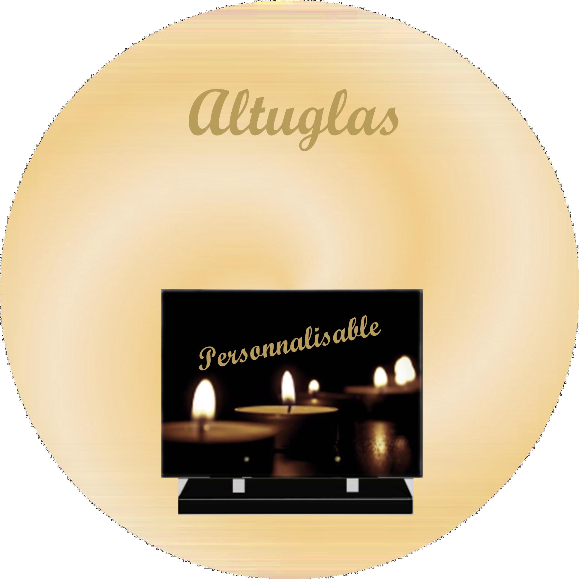 plaques altuglas personnalisables