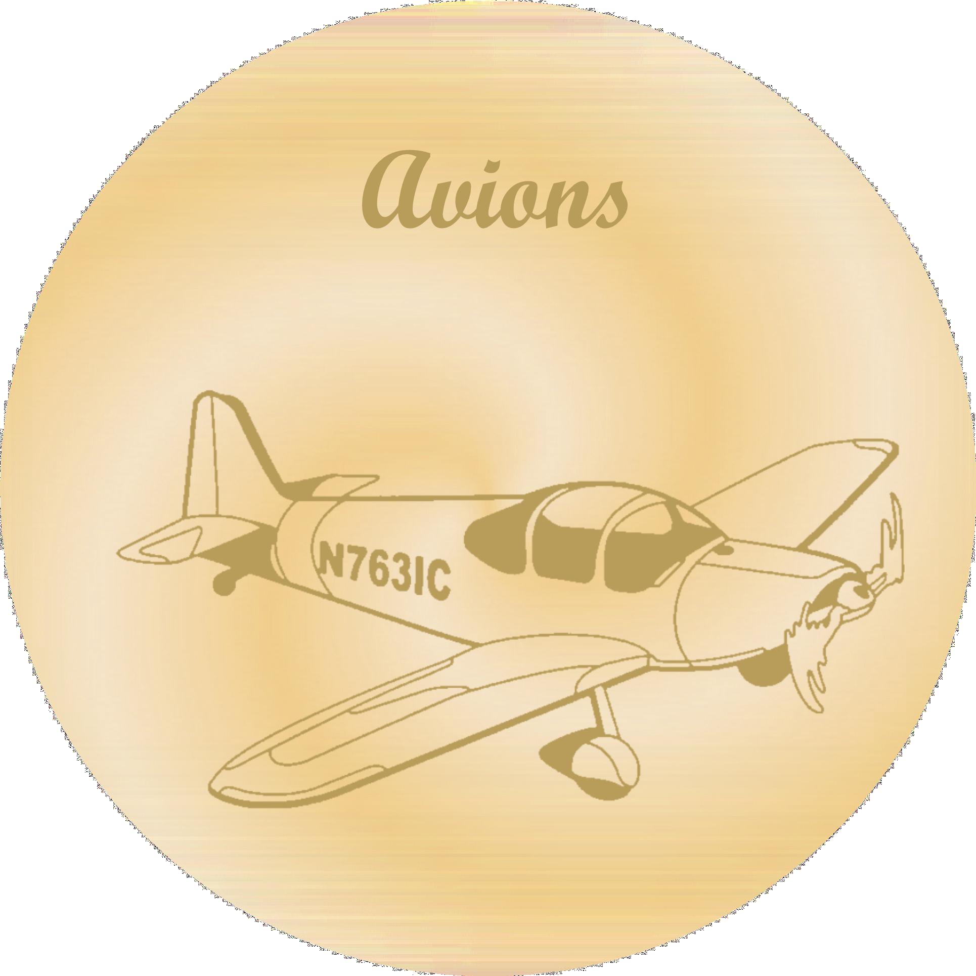 avions gravure plaques funeraires