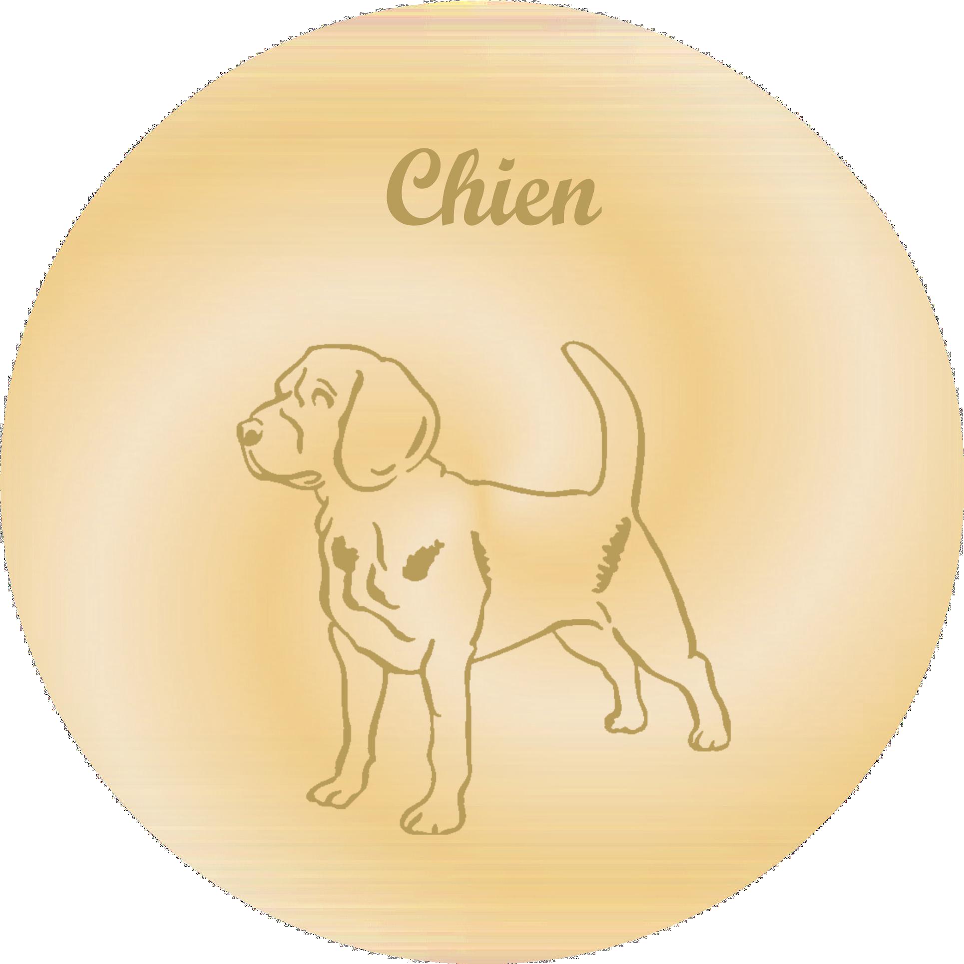 gravure theme chiens pour plaques funeraires