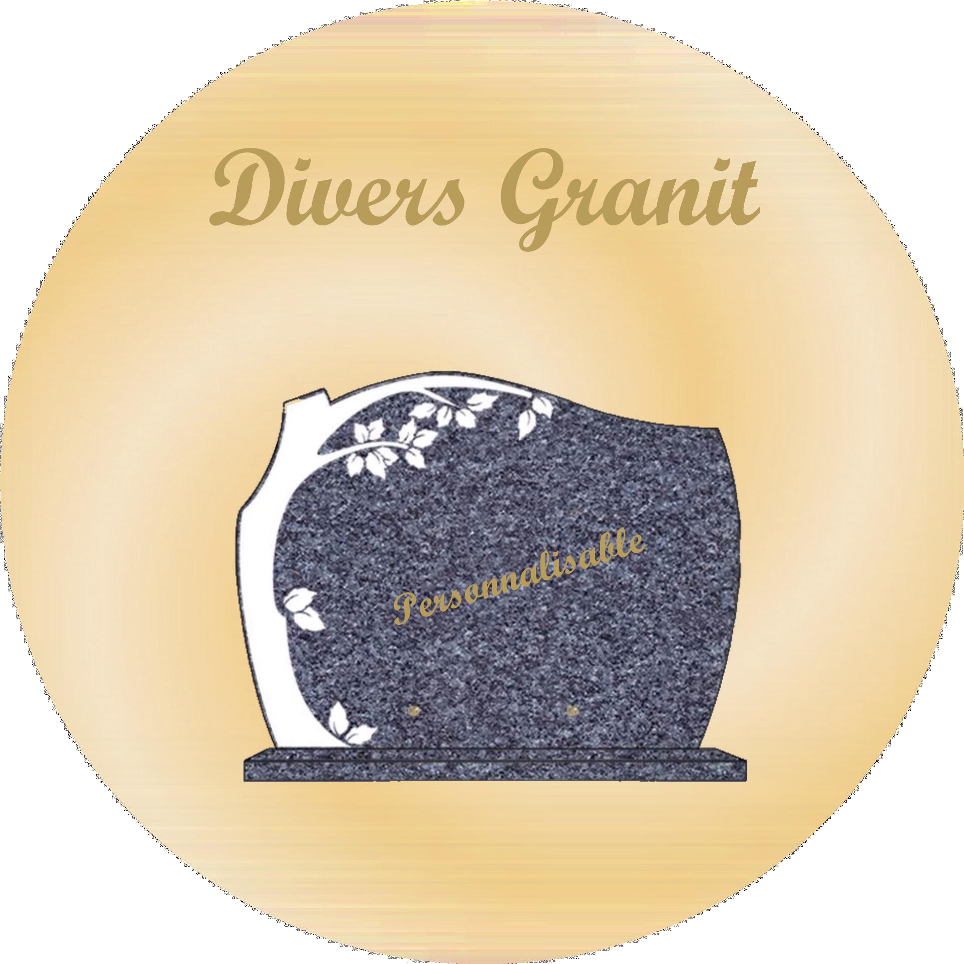 plaques funéraire divers granit personnalisables