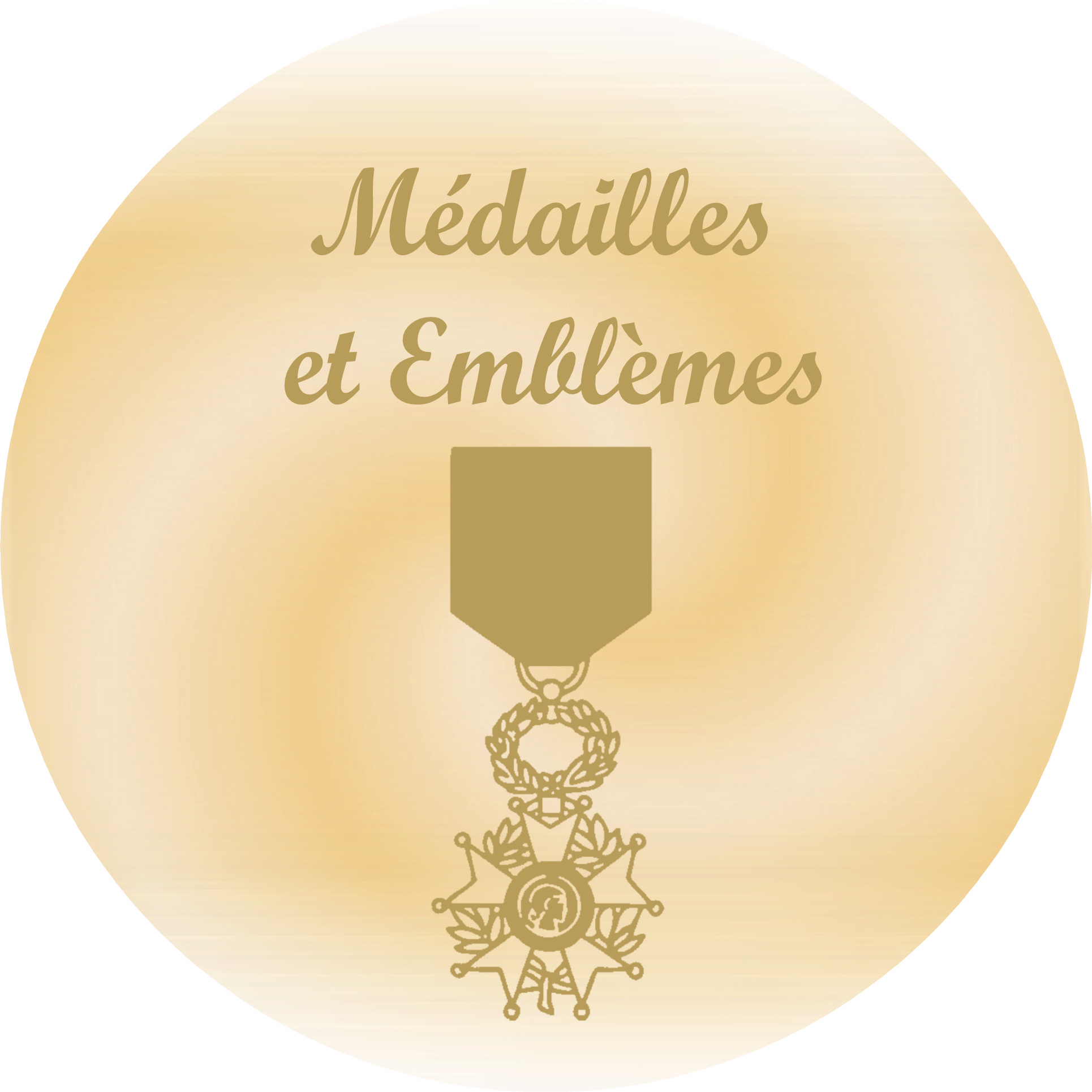 gravure medailles et emblemes pour plaques funeraires