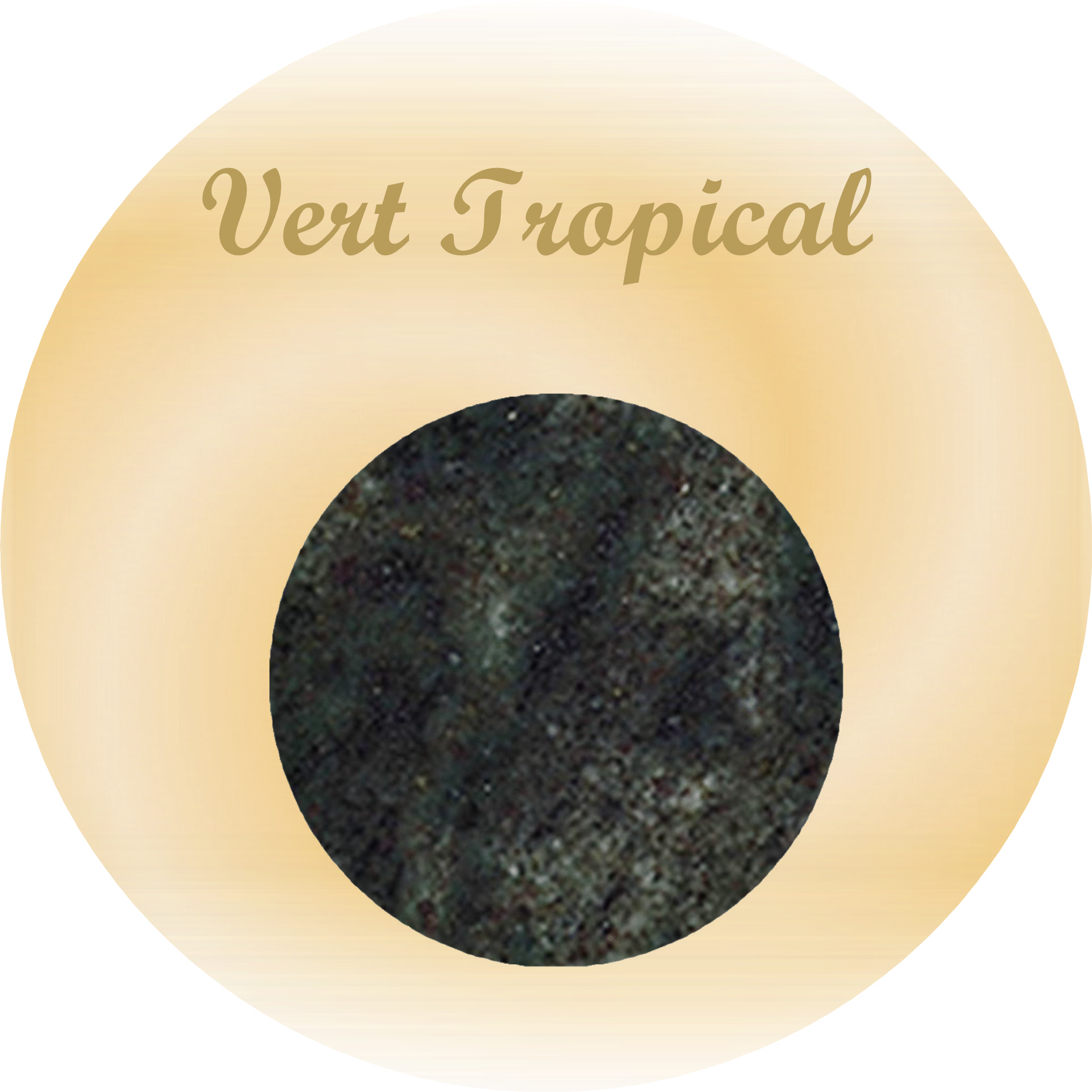 plaques rectangulaires granit vert tropical