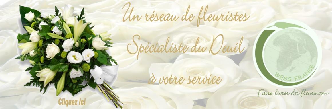 fleurs deuil livraison PARIS 10
