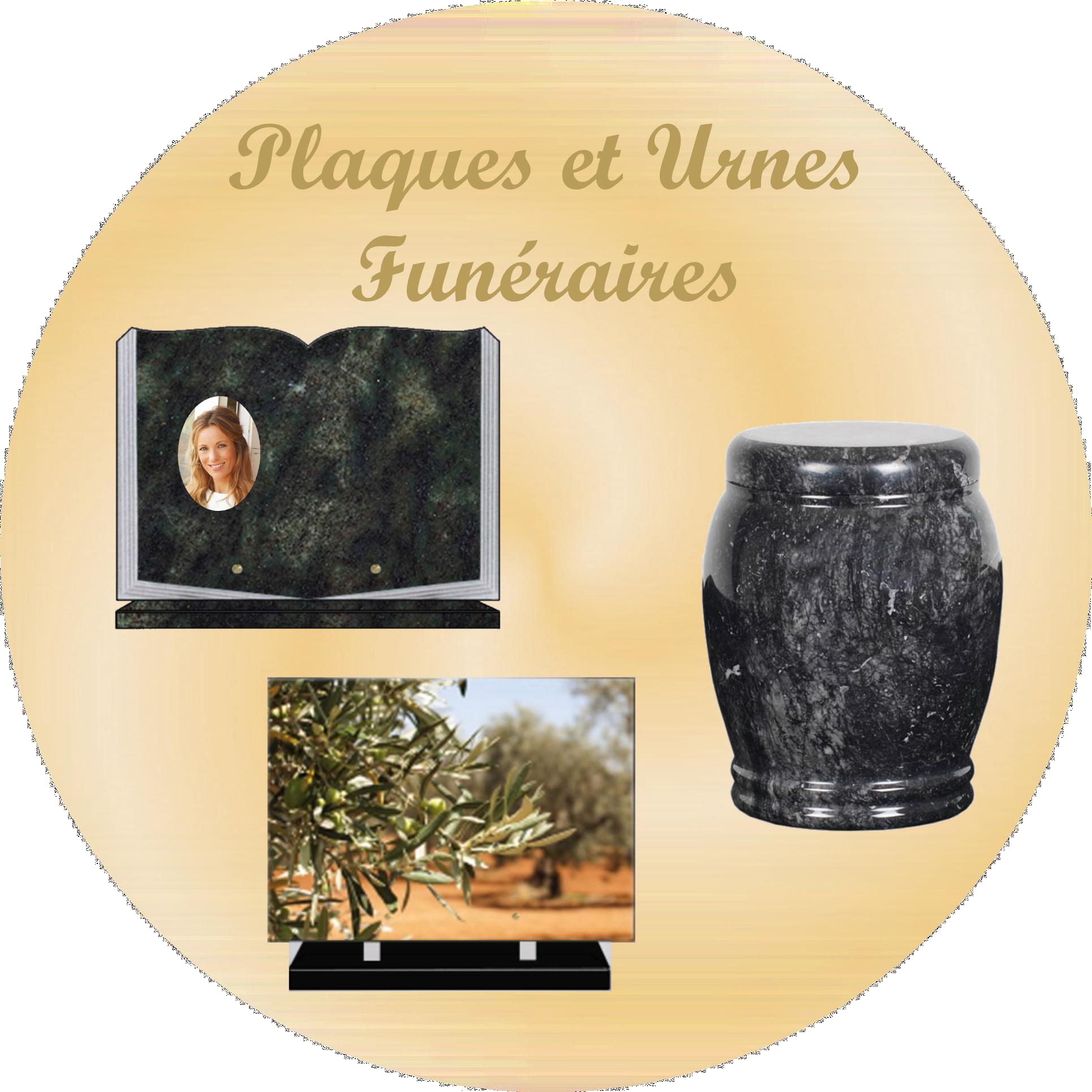 plaques et urnes funéraires MORBIHAN 56