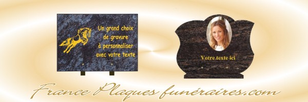 plaques fun raires plaques fun raires. Black Bedroom Furniture Sets. Home Design Ideas