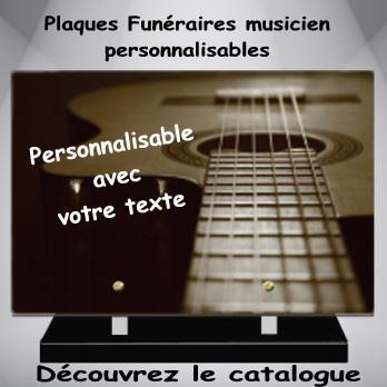 PLAQUE PLEXI MODERNE musicien musique