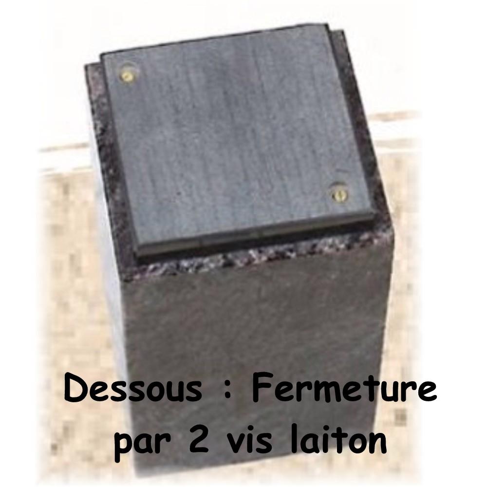 urne funeraire granit