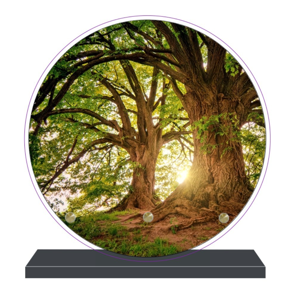 Plaques funéraires arbres - arbres gravure plaques funeraire