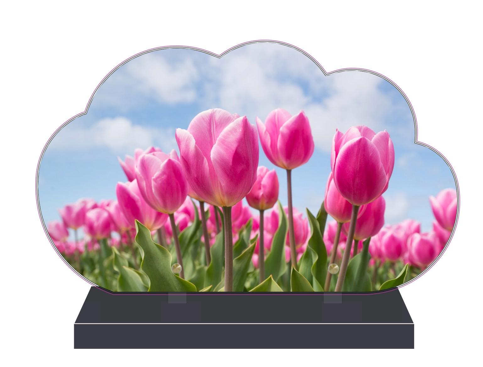 Fleurs Plaques funéraires fleurs - theme fleurs pour plaques funeraires