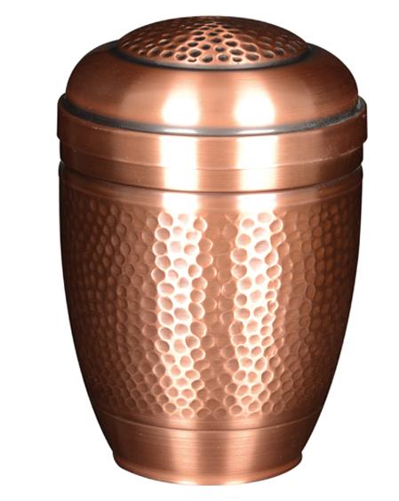 urne funeraire en acier