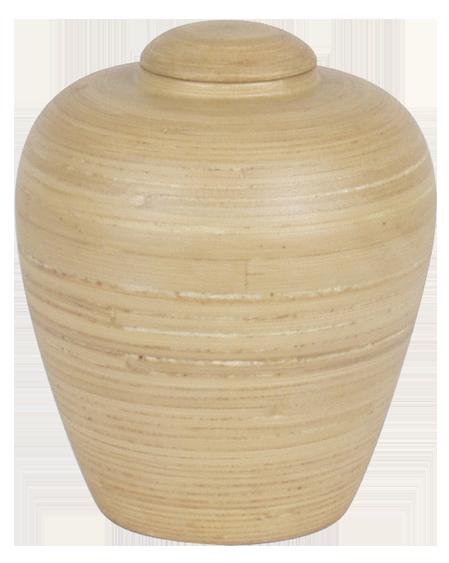 urne funeraire en bois