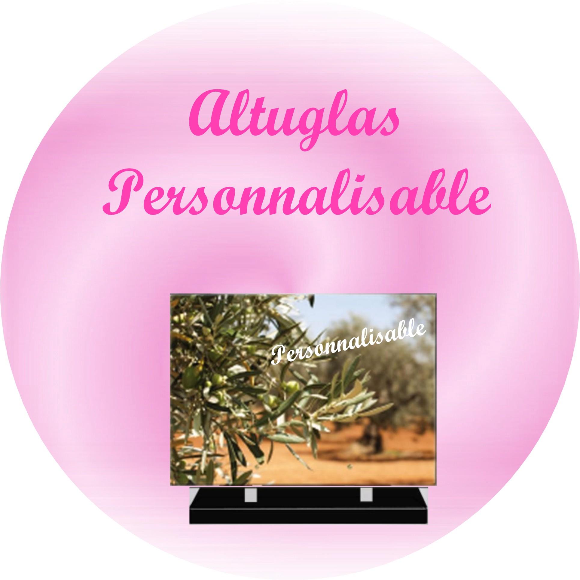 PLAQUES MODERNES ALTUGLAS PERSONNALISALES