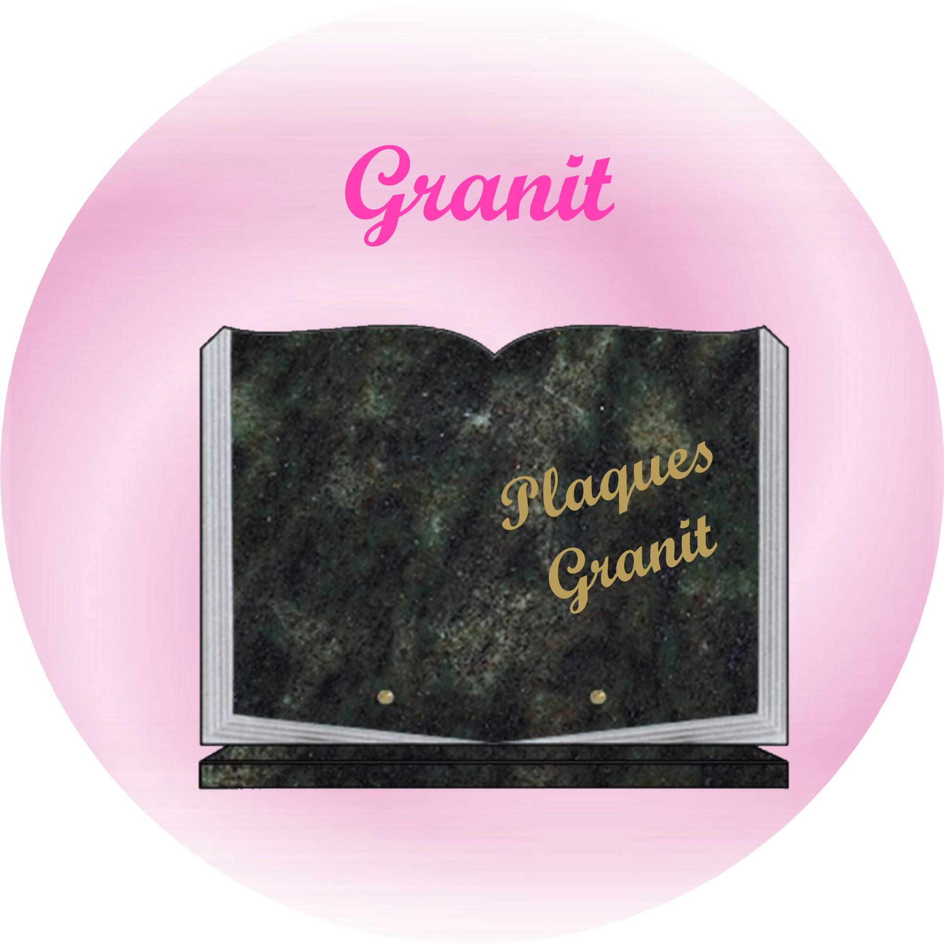 plaques funeraires en granit