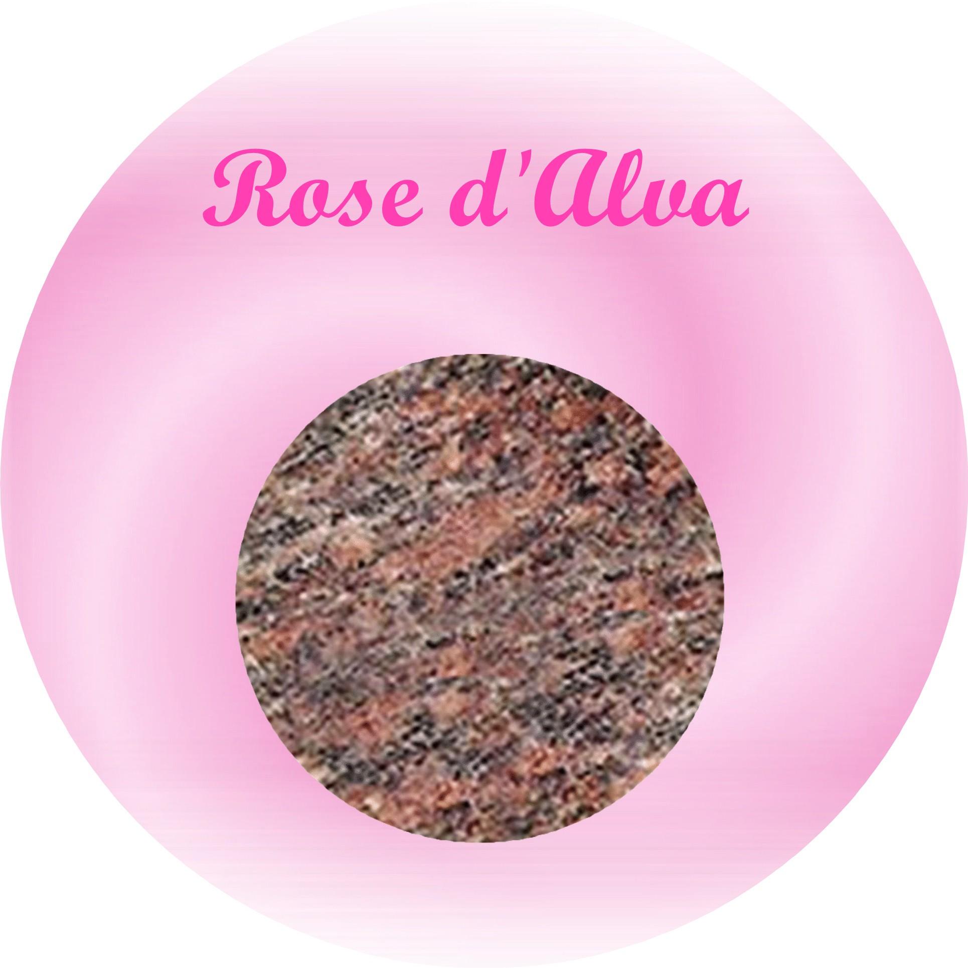 rose d'alva plaque funéraire granit
