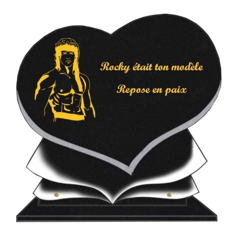 Célébrités - Plaques funéraires gravées or