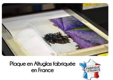ALTUGLAS POUR PLAQUES FUNÉRAIRES